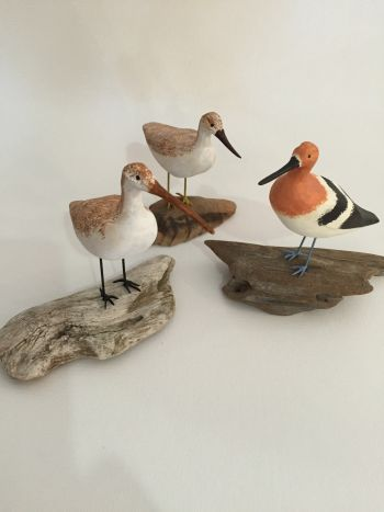 SeaDragon Gallery, Handcarved Shorebird