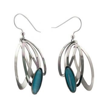 SeaDragon Gallery in Duck NC, Dancing Oval Earrings by Christophe Poly