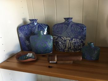 SeaDragon Gallery in Duck NC, Slab vases