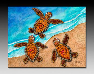 Stephanie Kiker turtles